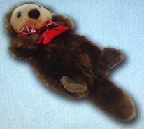 sea otter stuffed animal